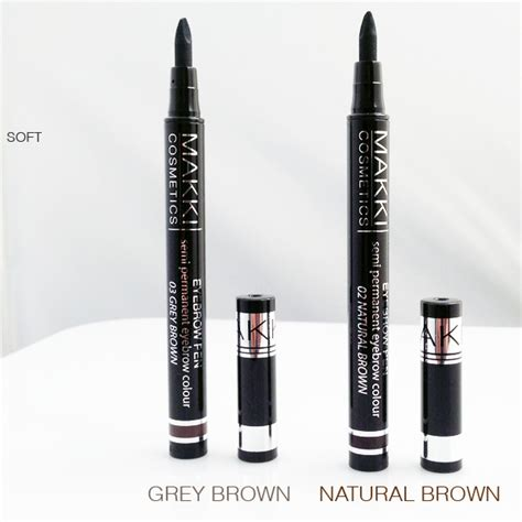 semi permanent eyebrow tattoo pen semi permanent eyebrow colour pen