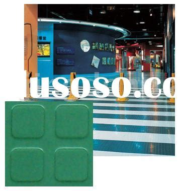 1 Meter Square Rubber Floor Tiles - non slip stud rubber tile for sale price china