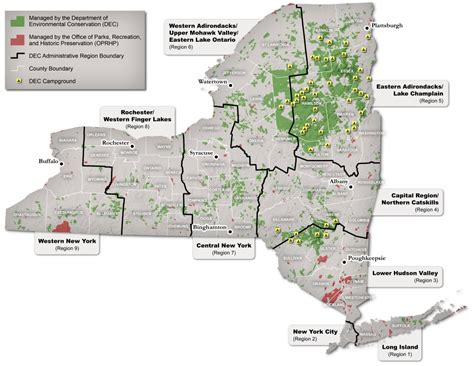 list of state forests nys dept of environmental full list of state lands you can visit nys dept of