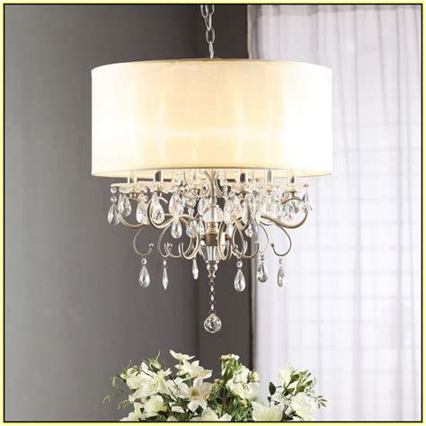 shade chandelier with crystals drum shade chandelier with crystals home design ideas