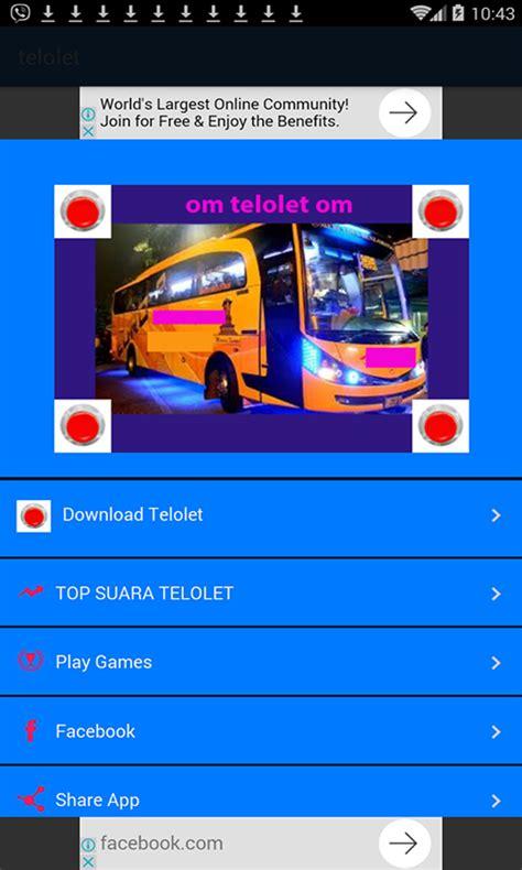 Klakson Telolet Om free klakson om telolet om apk for android getjar