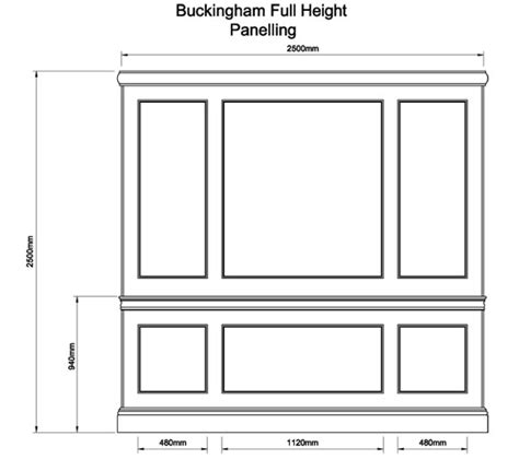 Pictures Of Front Doors buckingham full height panelling the english joinery company