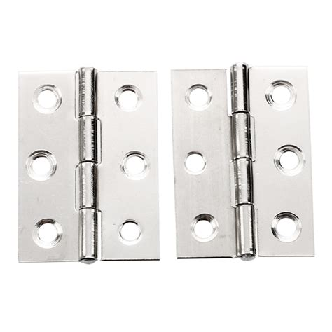 2pcs Stainless Steel 2 Inch 4 4x3 1cm Cabinet Door Hinges