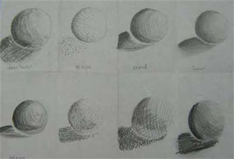 values different types of shading to get to know