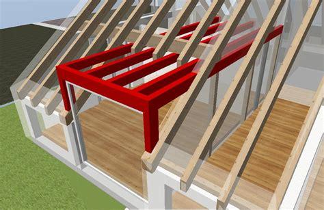 Dachstuhl Mit Gaube by Planung Dachstuhl Satteldach Mit Gaube 5 Vordach Shop