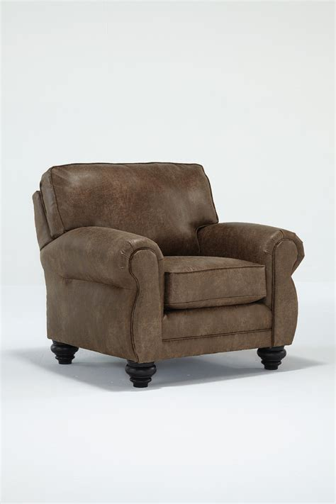 brown faux leather accent chair best home furnishings brown faux leather accent chair