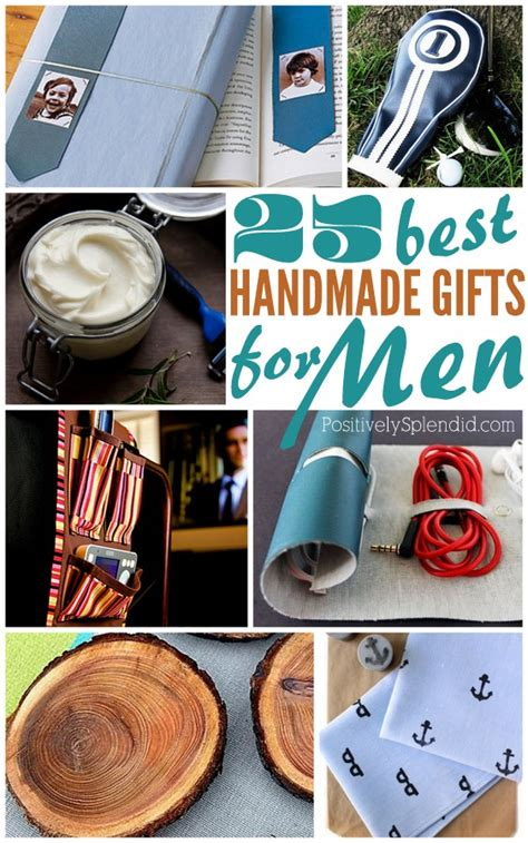Cool Handmade Gifts For Guys - 25 handmade gifts for