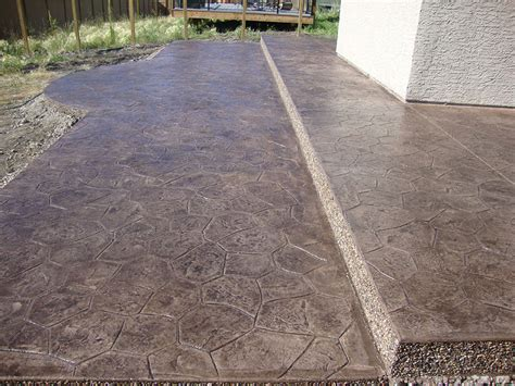 Decorative Concrete Walkways by Ac Concrete Decorative Concrete Calgary