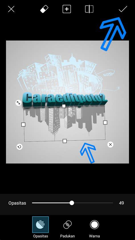 membuat logo dengan picsart buat text 3d dengan cityscape picsart android