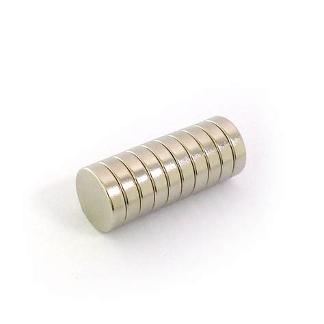 Murah Neodymium Magnet 3mm disc neodymium magnets 12mm dia x 3mm 10pcs pack
