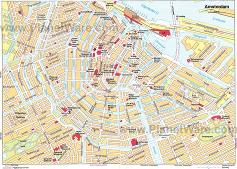 map of for tourists amsterdam map for tourists emaps world
