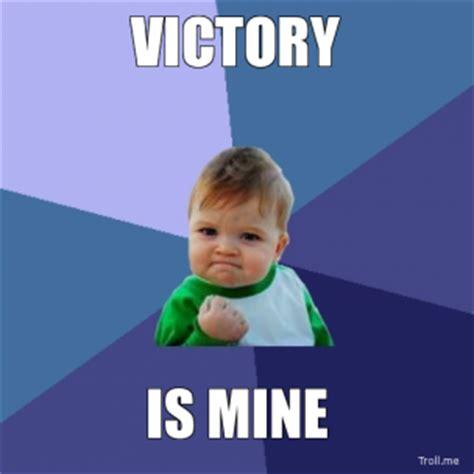 Victory Meme - victory baby meme