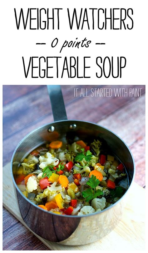 weight watchers recipe for soup