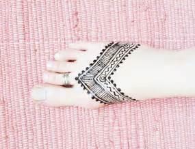 henna tattoo zum selbermachen henna tribal am fu selbermachen pictureicon