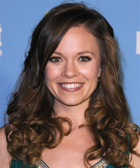 curly haircuts boston rachel boston long curly casual hairstyle dark brunette
