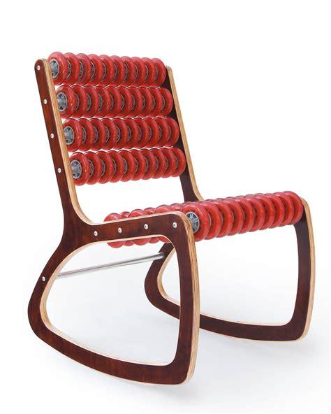 Razor Chair by Razor Rocker Rocking Chair In Walnut And Translucent