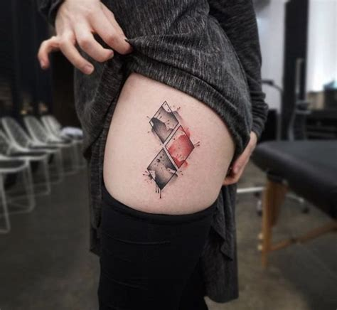 diamond tattoo between eyes 45 harley quinn tattoo design ideas to style your body