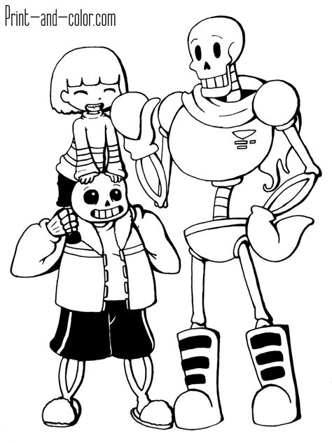 undertale drawing guide books undertale coloring pages print and color
