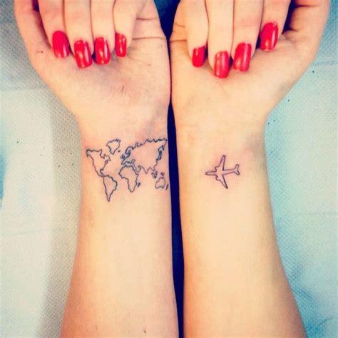 tattoo wrist airplane 1000 ideas about travel tattoos on pinterest compass