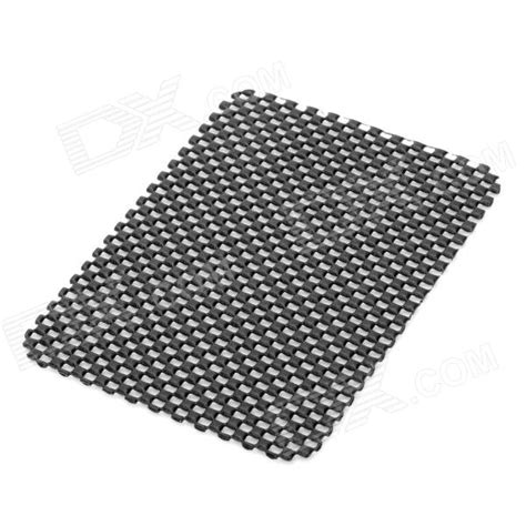 Anti Selip Mat pvc auto car soft anti slip mat black 15 11cm free shipping dealextreme
