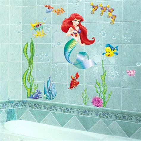 ariel wall stickers popular mermaid wall decal buy cheap mermaid wall decal