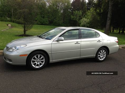 lexus coupe 2004 2004 lexus es330 base sedan 4 door 3 3l