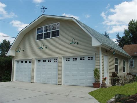 gambrel roof garage regency garages chicago garage builder garage