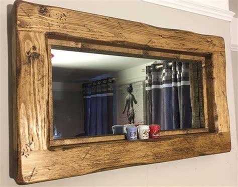 ideas for make basic rustic mirrors mirror ideas mirror