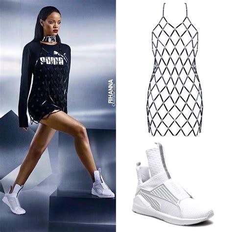 Shoes Rihana rihanna s fenty x sneaker the trainer rihanna overdose