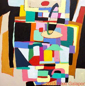 color block painting modernism abstract acrylic color block painting canvas