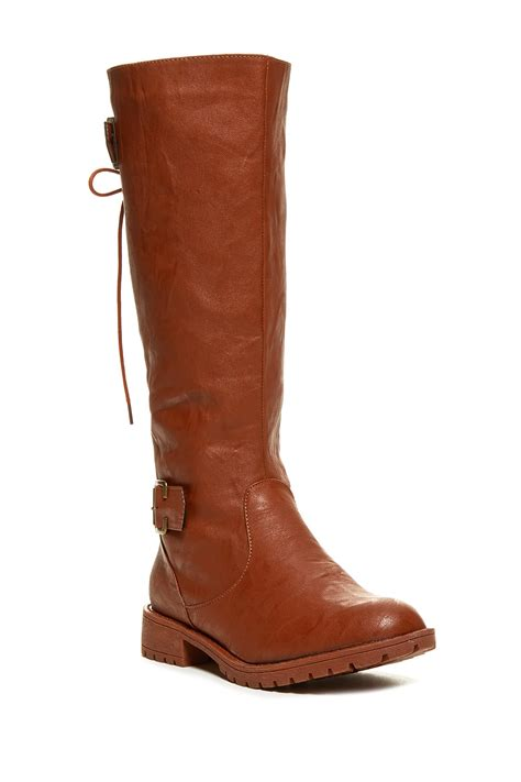 nordstrom shoes boots carrini back lace up boot nordstrom rack