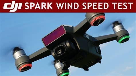 speed test wind dji spark high wind speed test