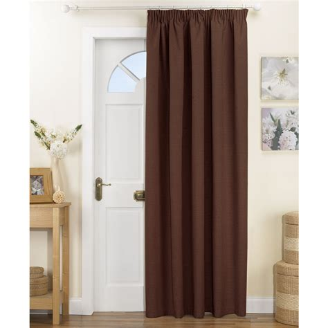 brown door curtain material for laundry room curtains material