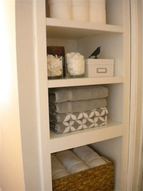 Bathroom Closet Shelves Best 20 Bathroom Staging Ideas On