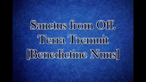 you learn testo gregorian chant sanctus sanctus dominus w lyrics learn