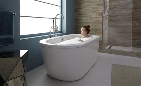 Freestanding Tub With Stunning Freestanding Tub With Arch Faucet Combined Shower