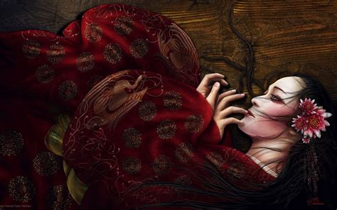 geisha tattoo wallpaper download fantasy geisha wallpaper 1920x1200 wallpoper