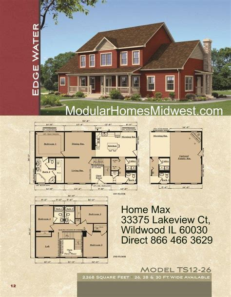 2 Story Modular Home Floor Plans by Modular Home Plans And Prices Find House Plans