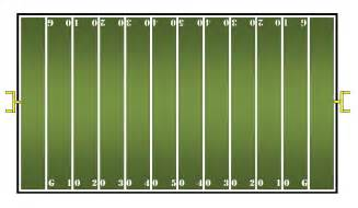 blank football field template math center ideas