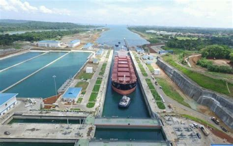 Panama Canal Records Panama Canal Records Third Highest Annual Cargo Tonnage Post Expansion
