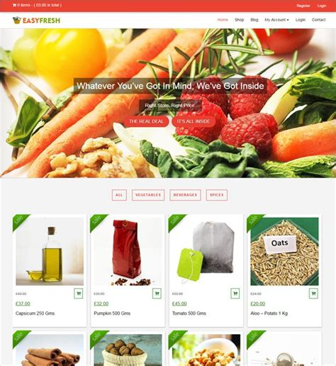 themes for grocery store 9 best grocery store wordpress themes 2018 inkthemes