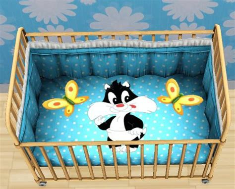 Tigerliyene S Looney Tunes Crib And High Chair Set Baby Looney Tunes Crib Bedding Set