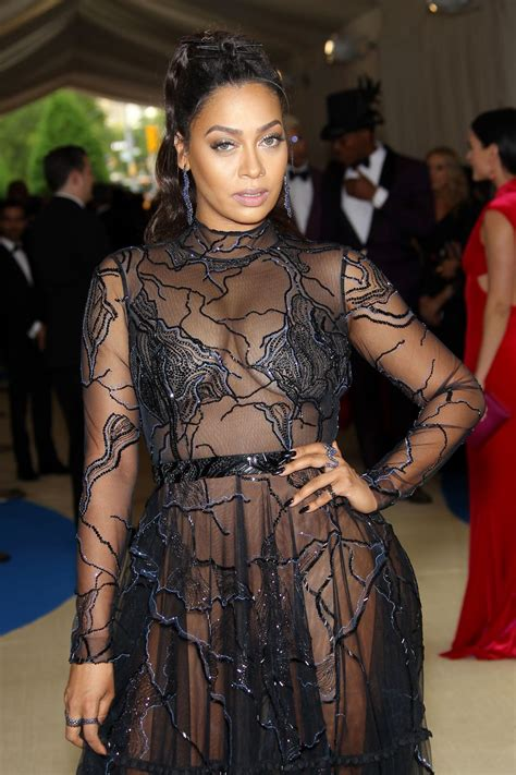Lala Anthony Hairstyles by La La Anthony At Met Gala In New York 05 01 2017