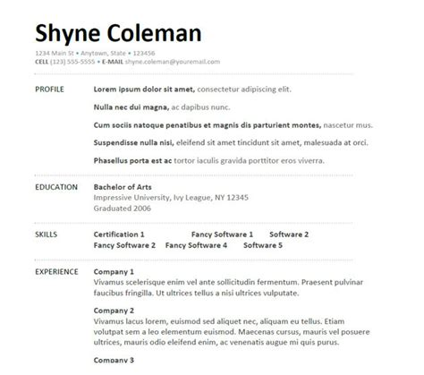 resume template for field doc 525679 oilfield consultant resume template