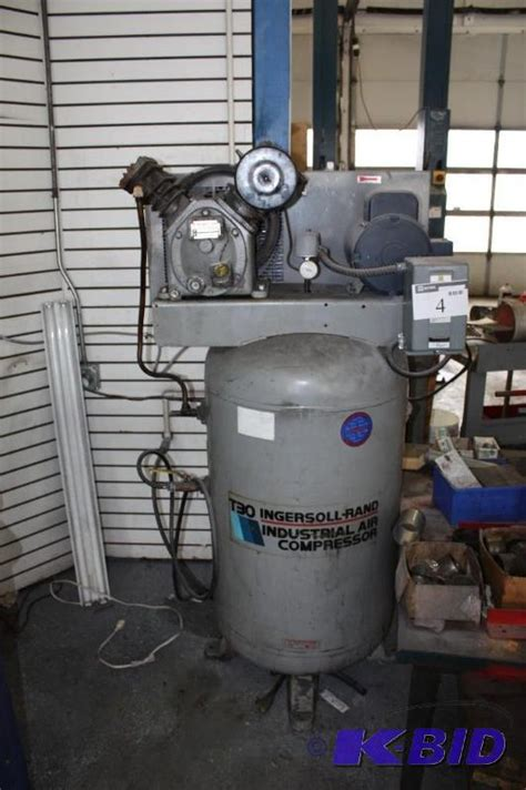 ingersoll rand industrial air compressor  model