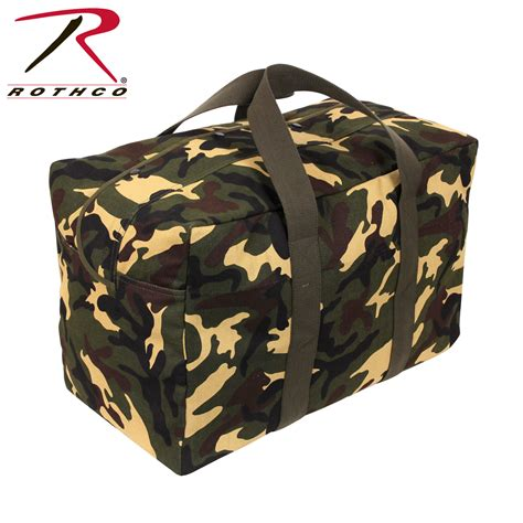 There Were Shoes Now Bags by Rothco Canvas Parachute Cargo Bag 5123 Ebay