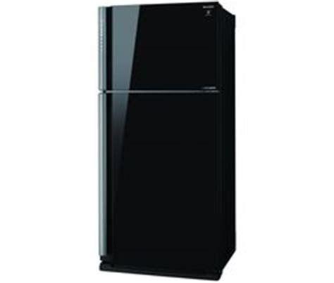 Freezer Sharp 6 Rak buy sharp sj xp680gbk 30 70 fridge freezer black free delivery currys