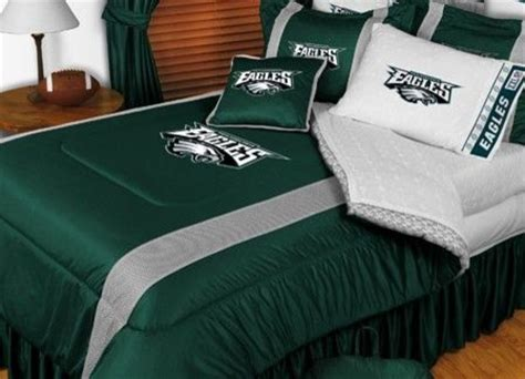 eagles bedroom philadelphia eagles nfl bedding sidelines comforter and