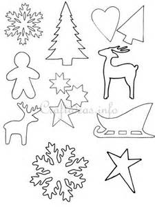 Winter Home Decorating Ideas - crafts for christmas christmas templates shapes and silhouettes