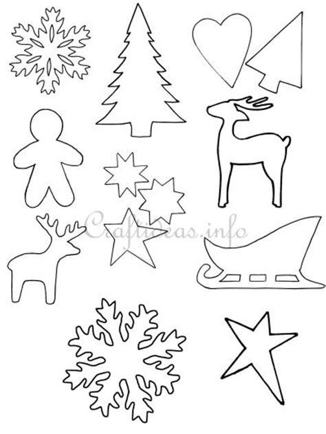 printable christmas card cutouts crafts for christmas christmas templates shapes and